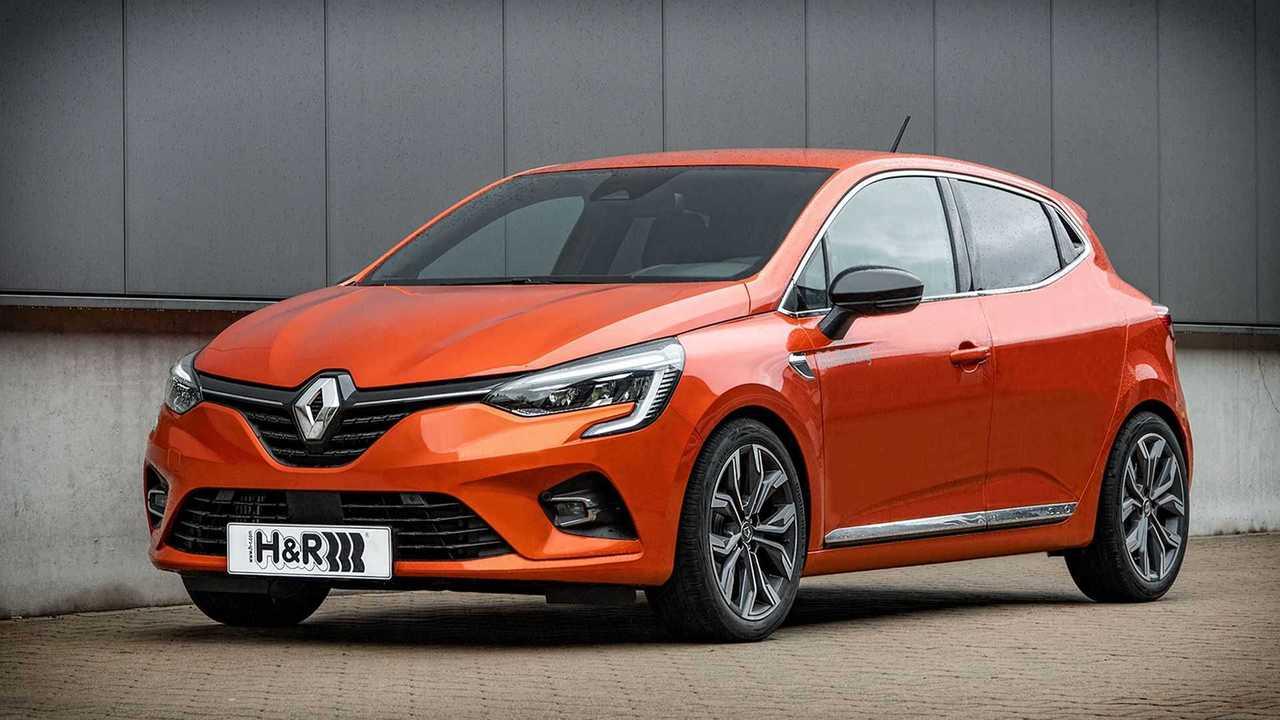 Renault Clio con suspensión H&R