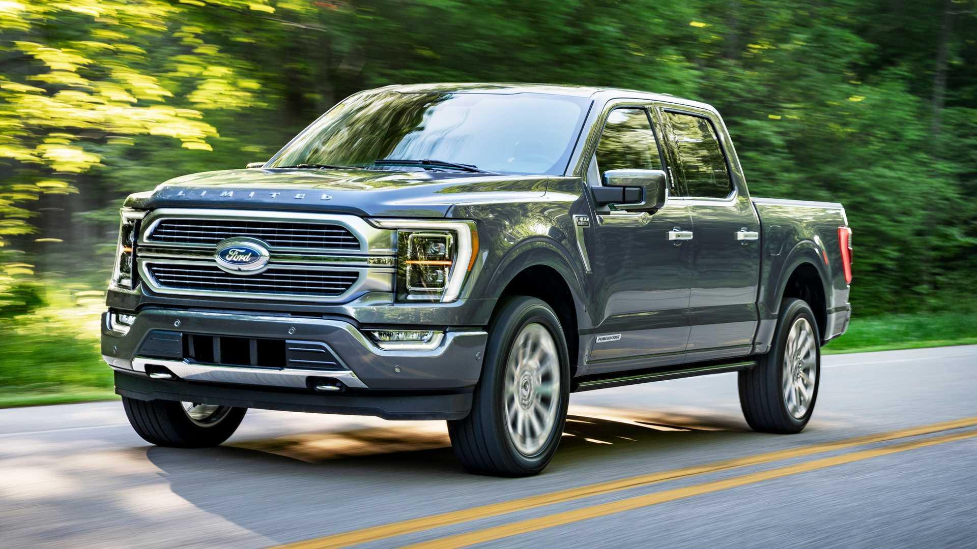 4 Ford F-4 MPG Numbers Released By EPA, Diesel Is Missing