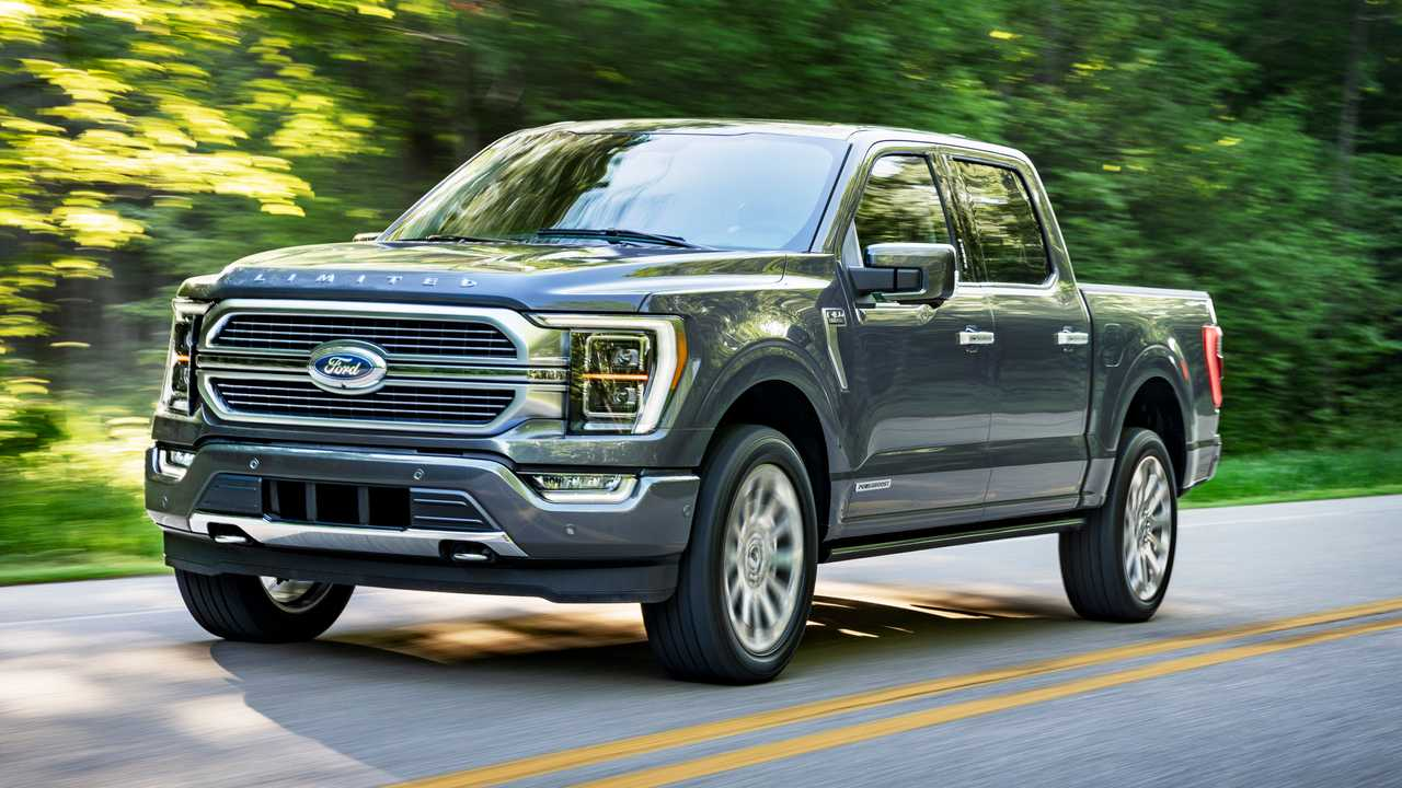 2021 ford f150 see the changes sideside