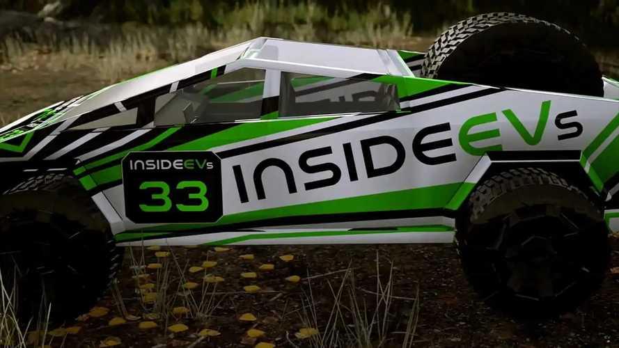 Tesla Cybertruck Racing Game Demo