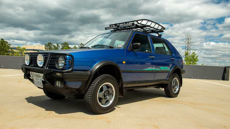 Connaissez-vous la VW Golf Country (1990-1991) ?