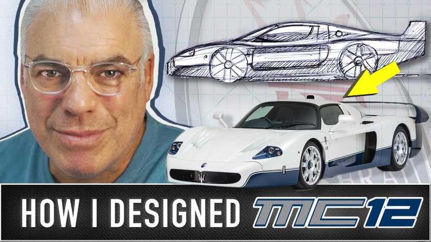 Ecco com'è nata la Maserati MC12, parla chi l'ha disegnata
