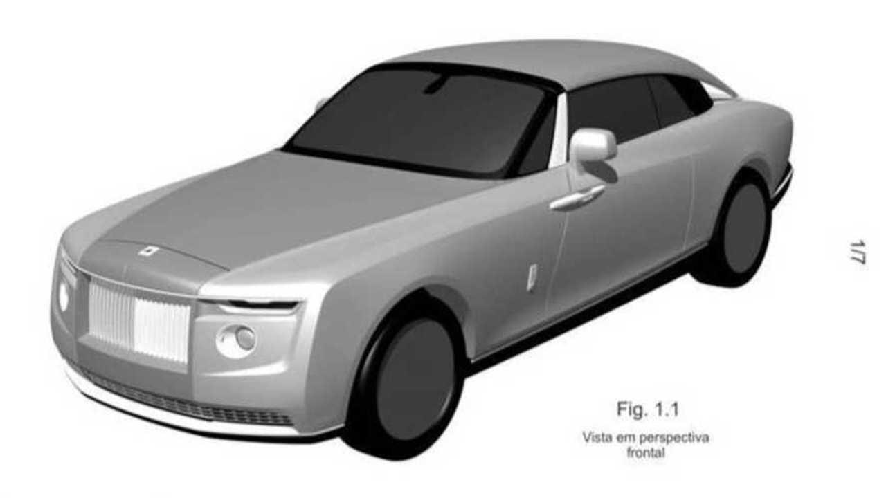 Патентные изображения купе Rolls-Royce