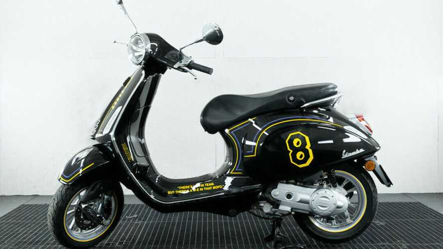 Vespa Kobe Bryant Tribute Being Auctioned Off For A Good Cause