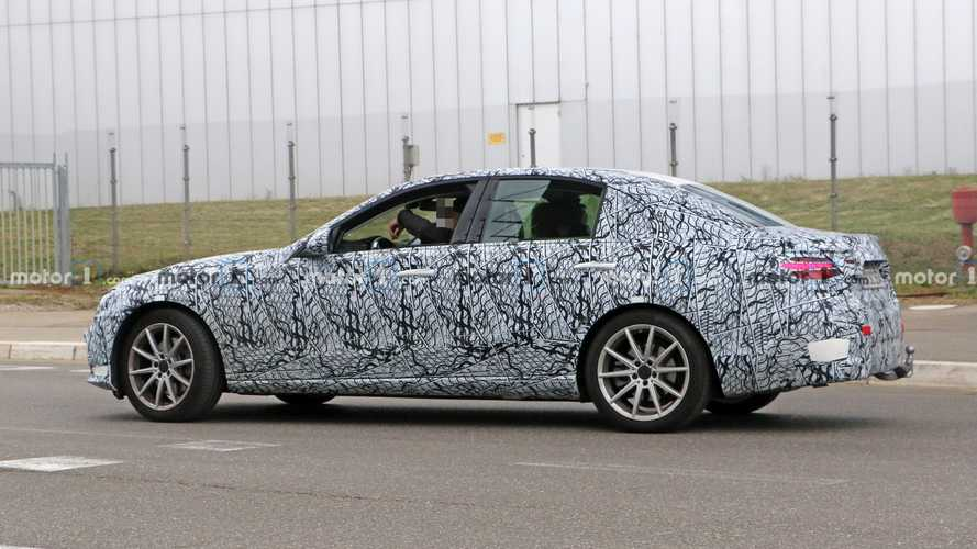 2022 Mercedes-Benz C-Class Spied Torturing Tires At The Nurburgring