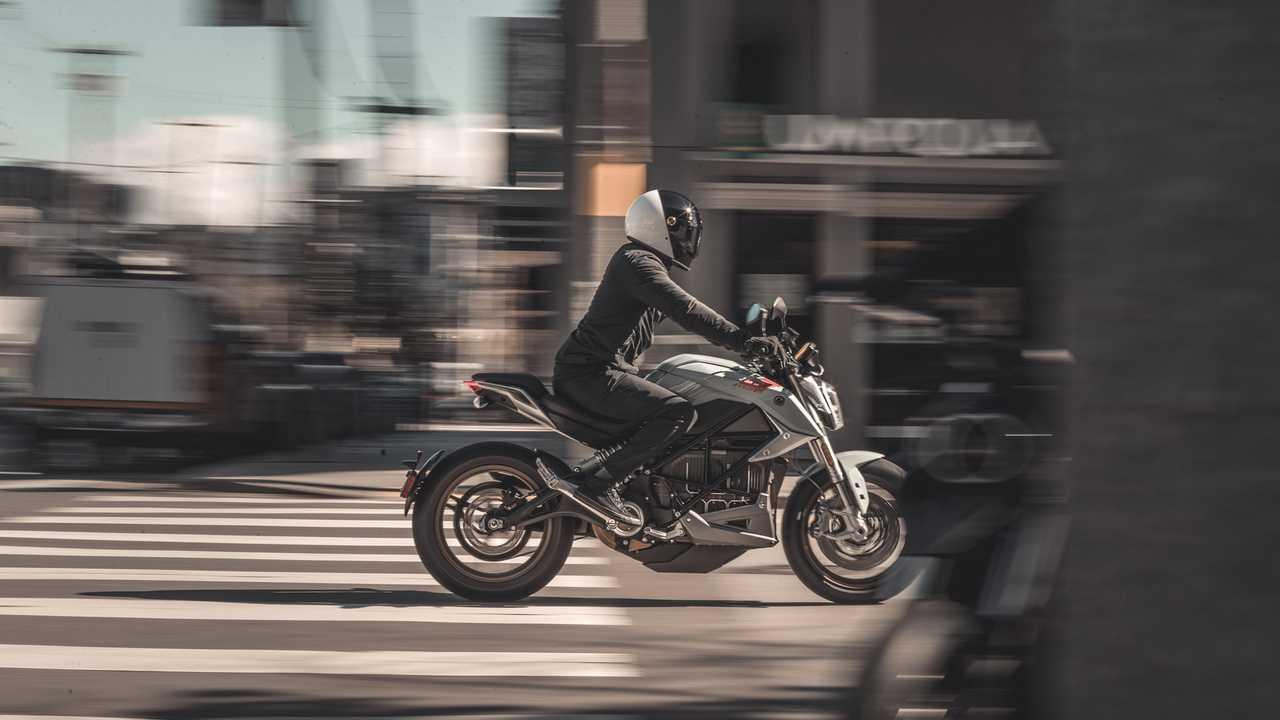 Zero SR/F, la streetfighter elettrica