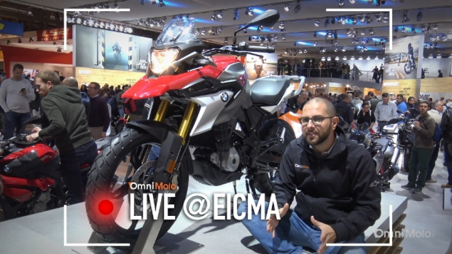 BMW G 310 GS a EICMA 2016 [VIDEO]