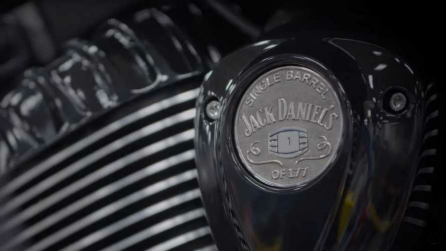 Indian Motorcycle, nuova collaborazione con Jack Daniels [VIDEO]