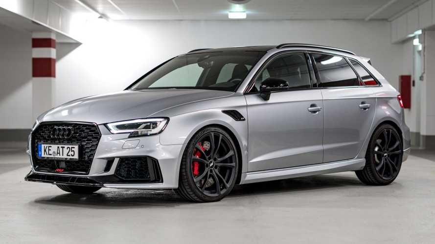 Audi RS3 Sportback tuned by ABT makes 464-bhp