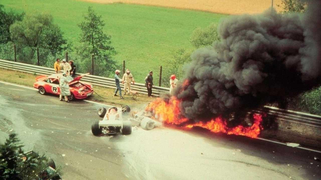 Accident de Niki Lauda au Nürburgring