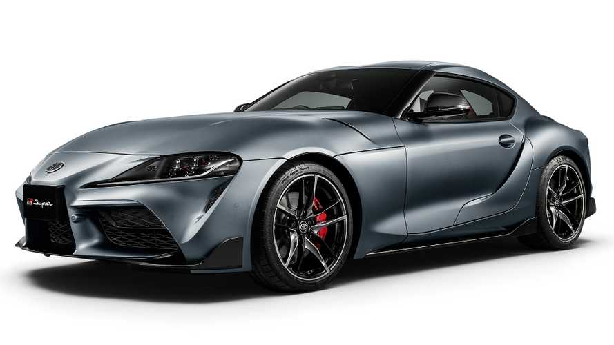 Toyota Supra In Matte Storm Gray Limited To Just 24 Units In Japan