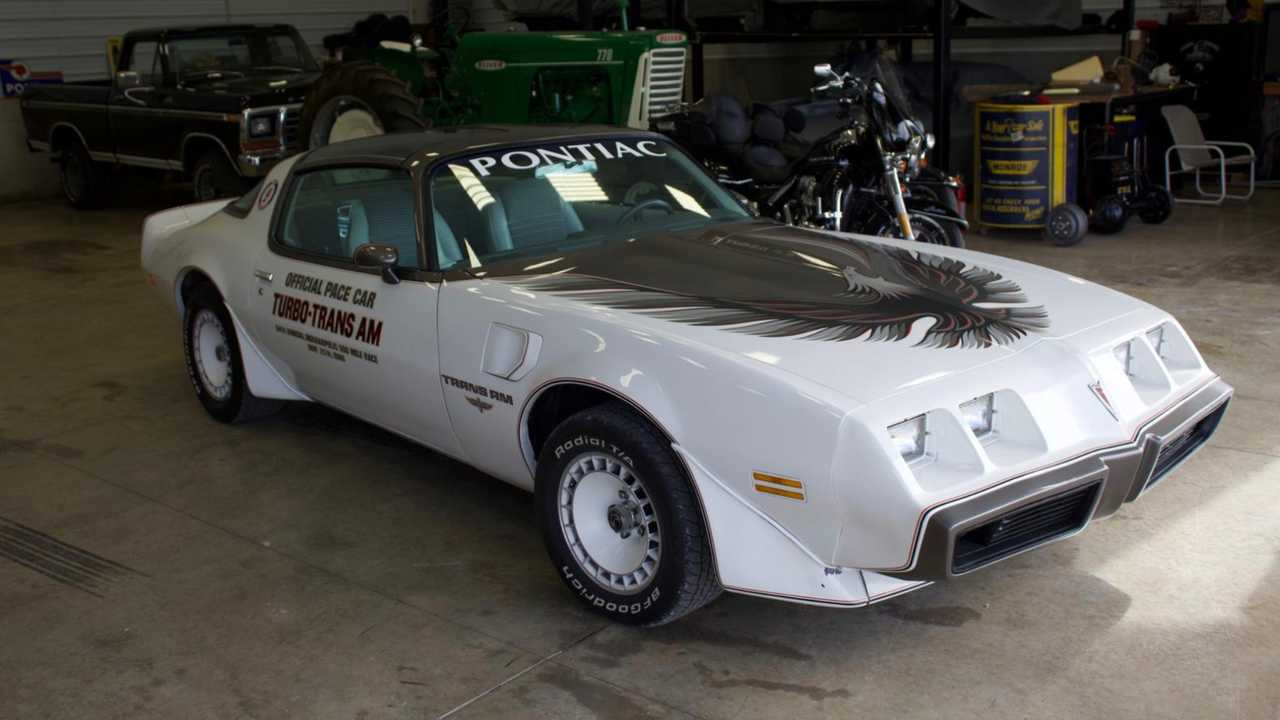 1980 Pontiac Trans Am Turbo pace car