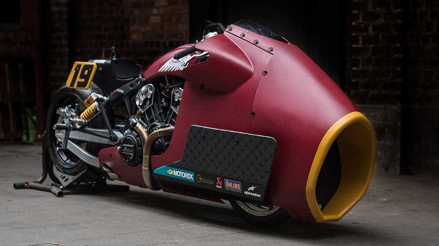 It Was An Indian Scout Bobber Once, We Promise