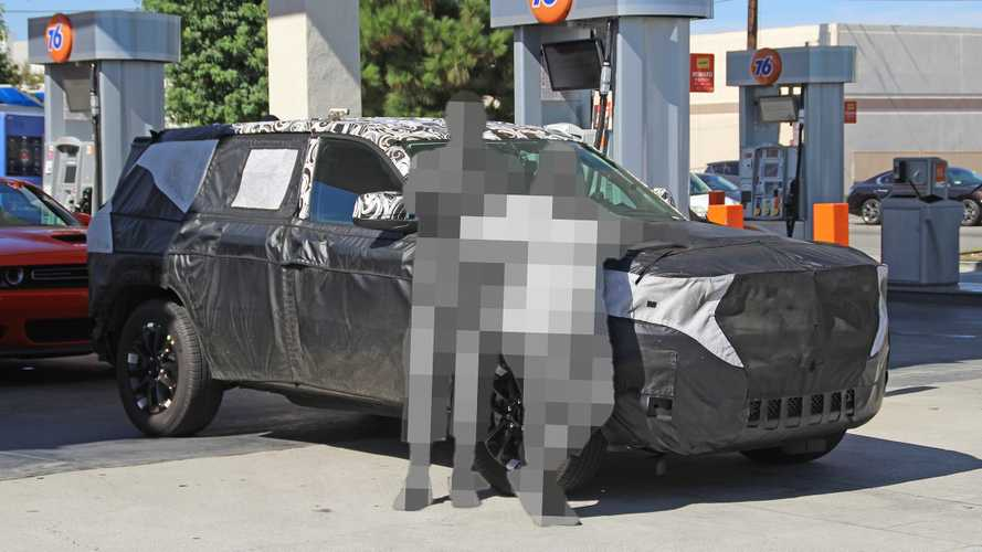 Jeep Grand Cherokee, le prime spy photo