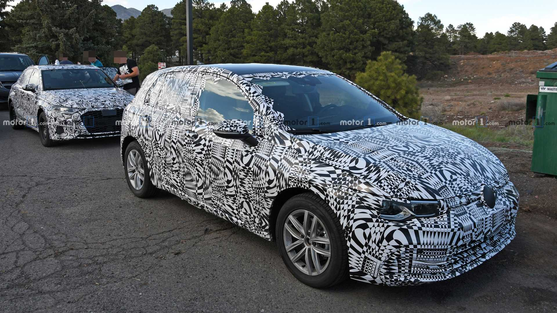 2020 Vw Golf Interior Spied For The First Time
