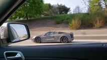hear mid engined corvette video