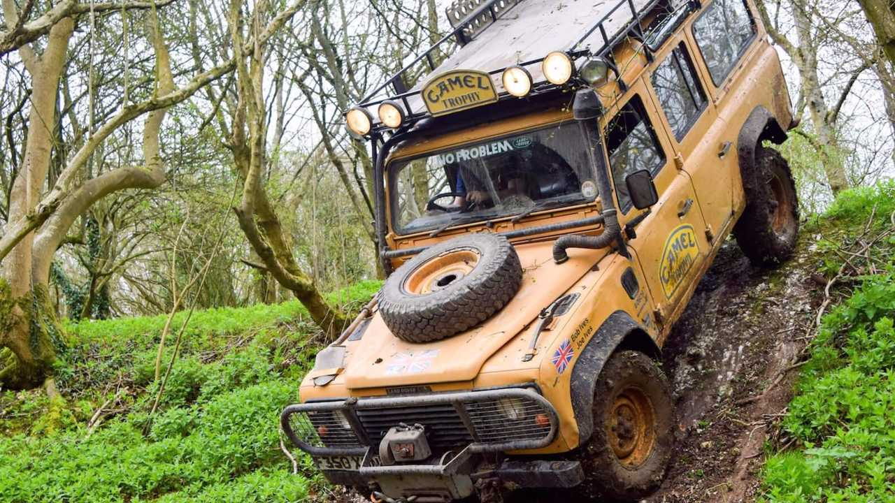 1989 Camel Trophy Land Rover One Ten