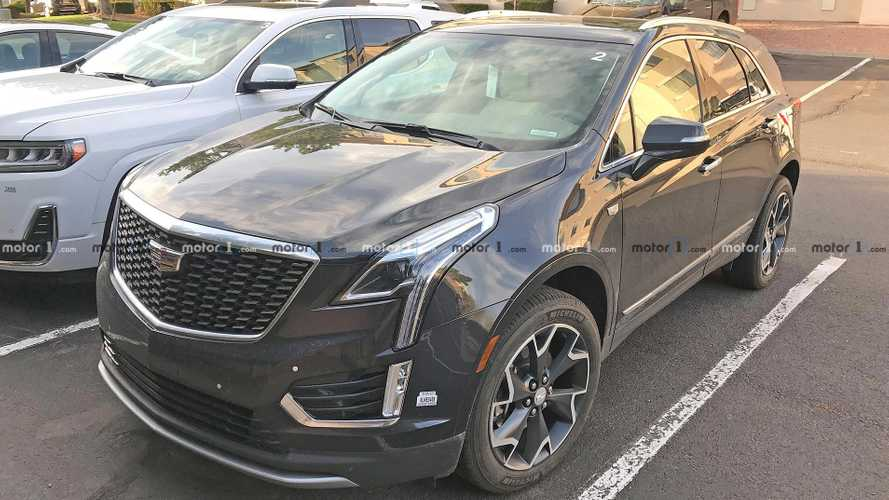 Refreshed Cadillac XT5 Spy Shots Completely Undisguised