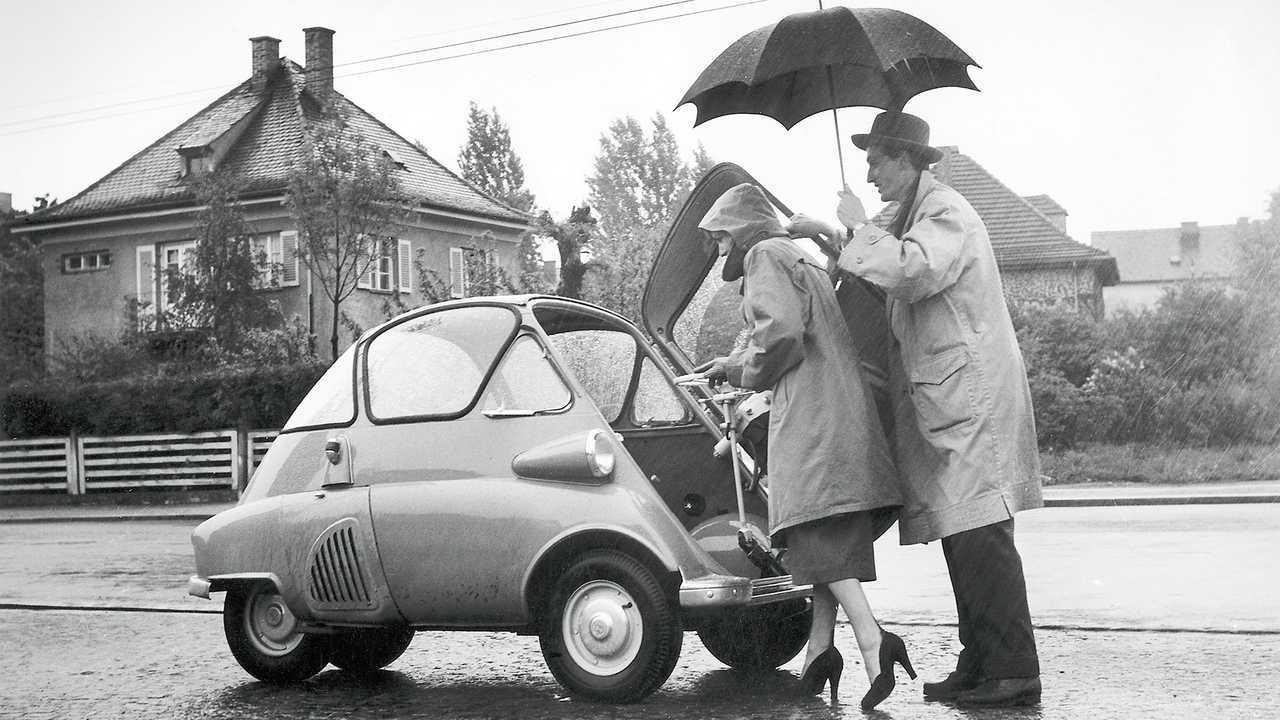 BMW Isetta und Microlino