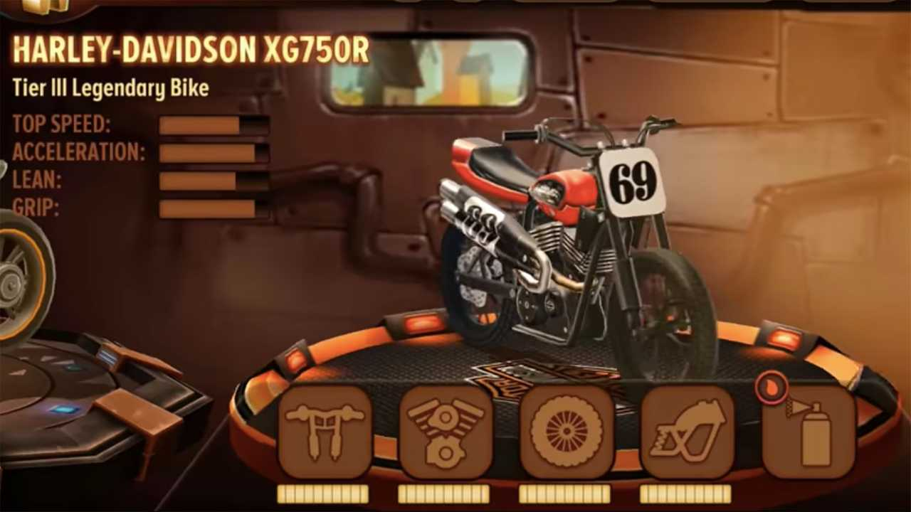 Harley-Davidson Trials Frontier Rally