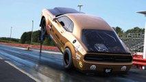 Dodge Challenger Demon Hemi Under Glass Renders