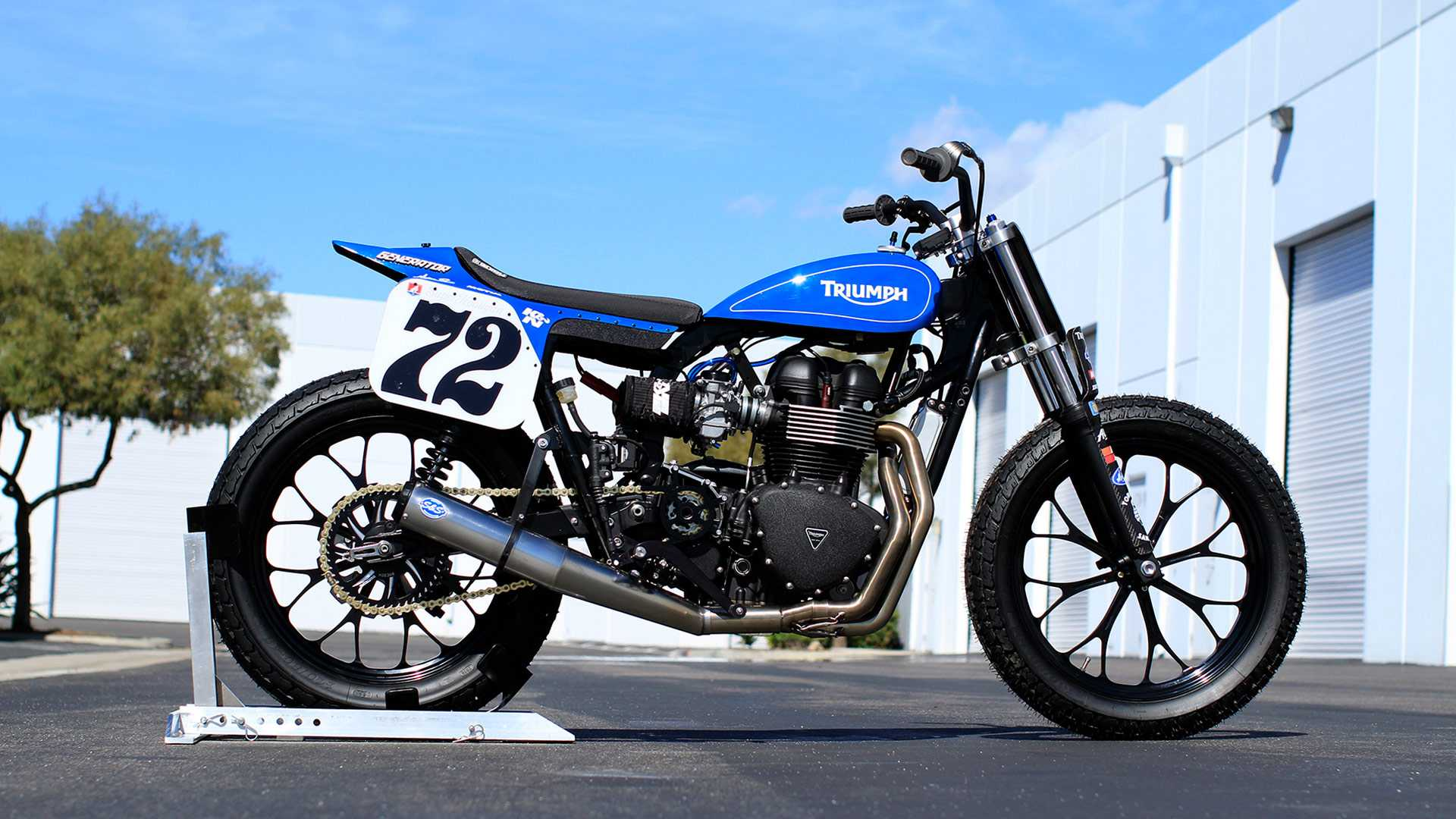 This Super Hooligan Bonneville Is The Flat Tracker We All Want
