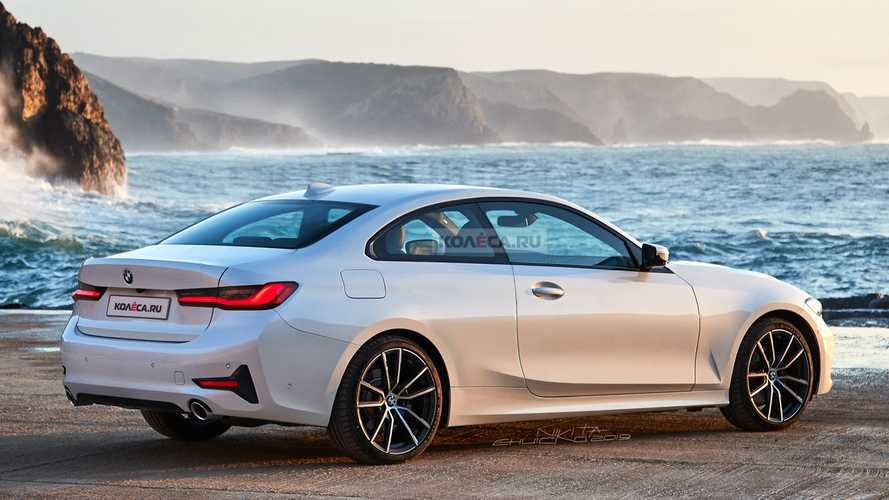2020 BMW 4 Series Coupe renderings