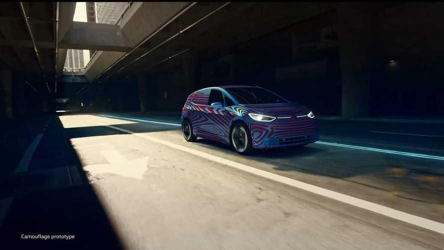 Первый электромобиль VW: фото серийного хэтча и его имя