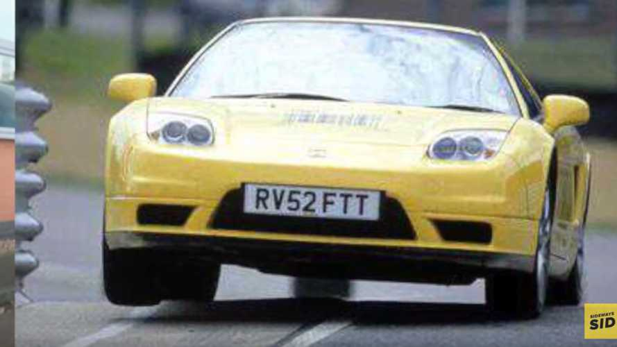 L'ancienne Honda NSX de Jenson Button
