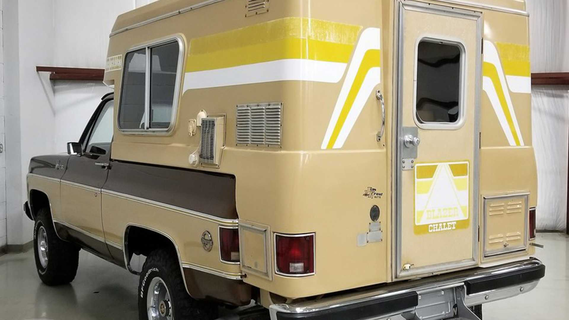 This Chevy Blazer Chalet Camper Needs A New Home