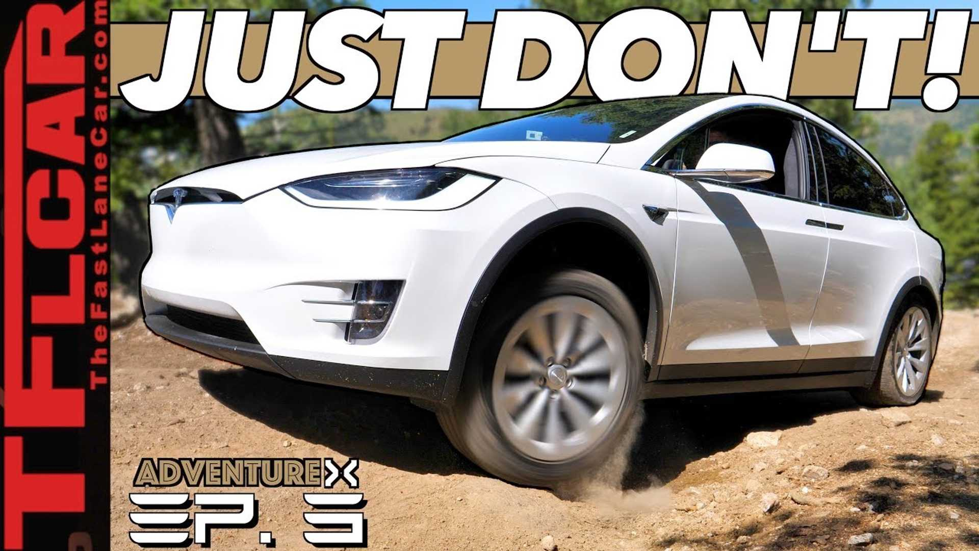How Does Tesla Model X Compare To Old-School SUV Up A Rocky Mountain?