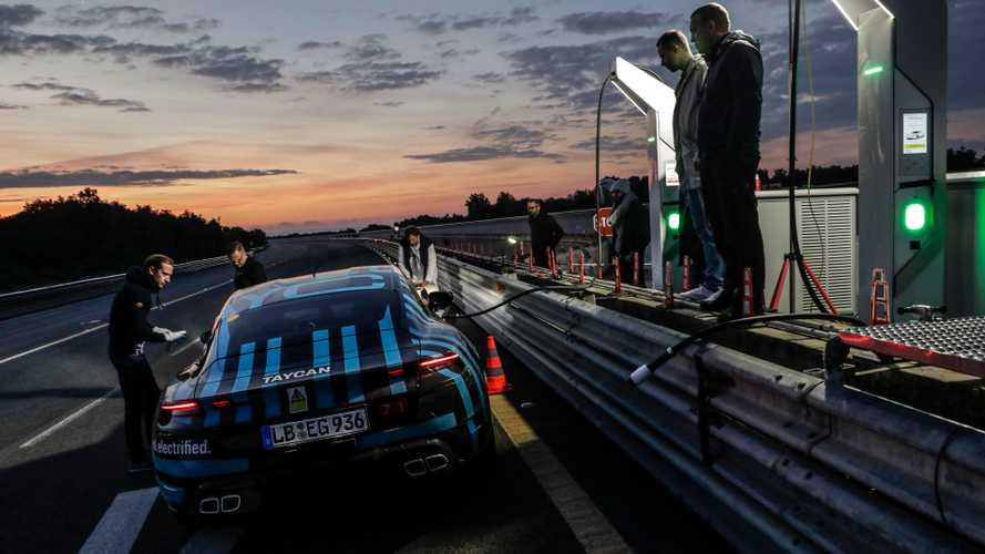 Porsche Taycan impresses with 2,129 mile, 24-hour endurance test