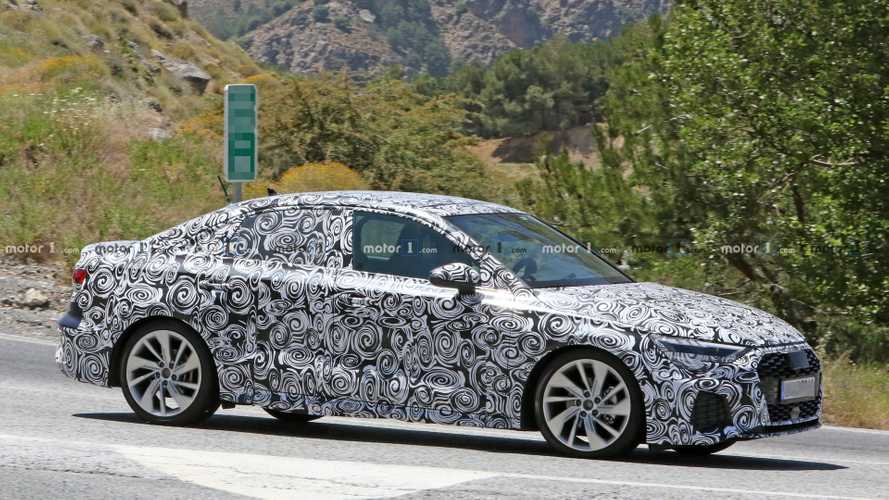 2020 Audi A3 Sedan S Line spy photo | Motor1.com Photos