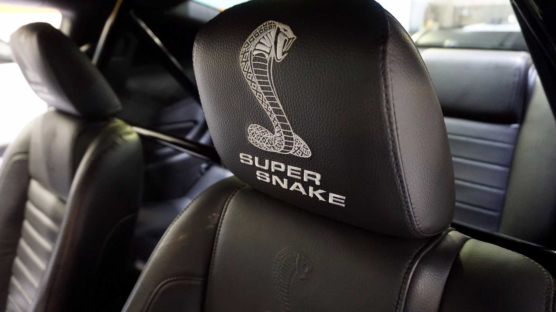 """[""""2007 Ford Mustang Super Snake Will Add Bite To Any Collection""""]"""