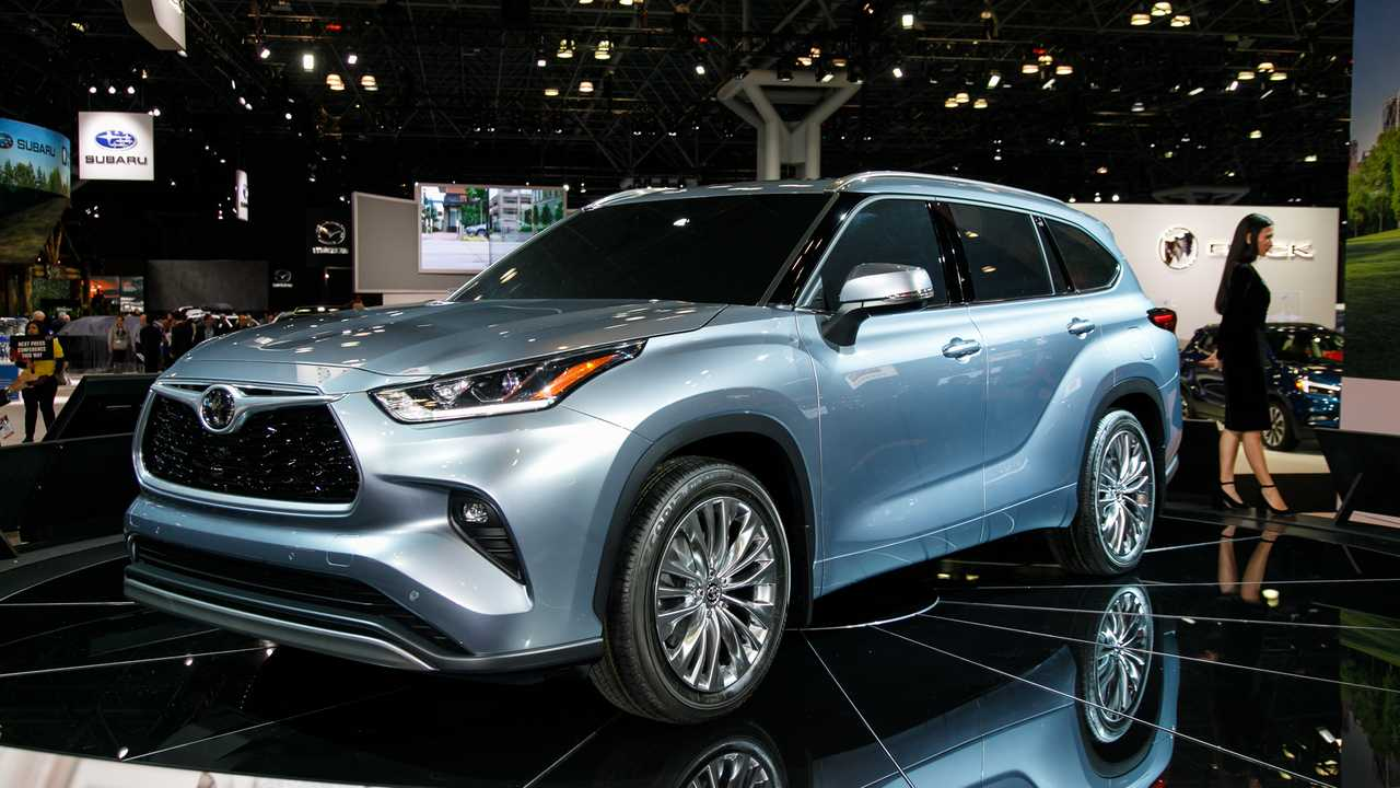 2020 Toyota Highlander: 2019 New York Live