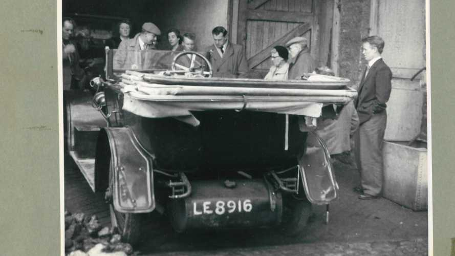 Insanely Rare 1912 Austro-Daimler joins Beaulieu's Chitty Display