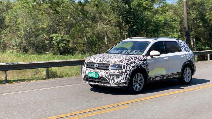 Volkswagen Tarek Güney Amerika'da test ediliyor