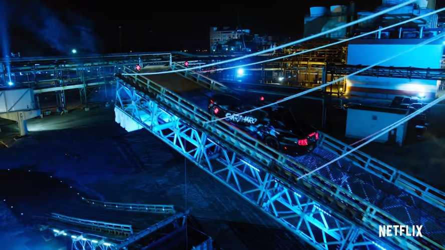 Netflix teaser video for Hyperdrive stunt show looks brilliant