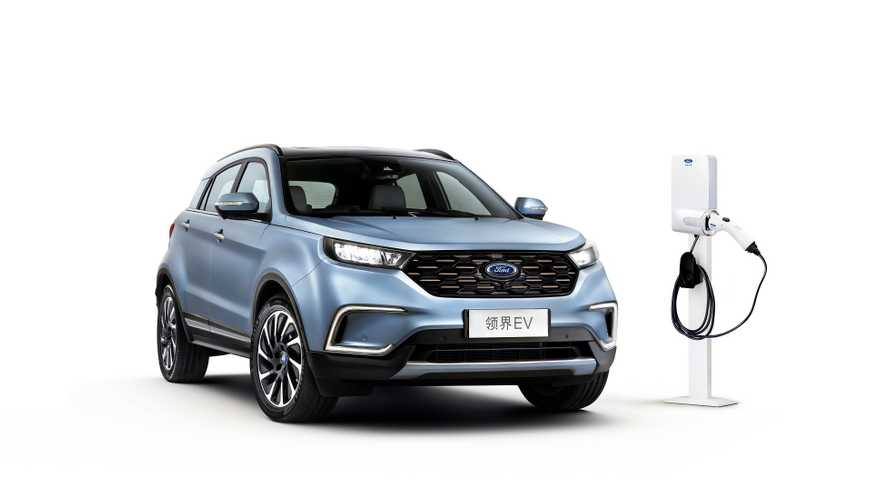 Ford Reveals Territory EV Crossover For China With 224-Mile NEDC Range