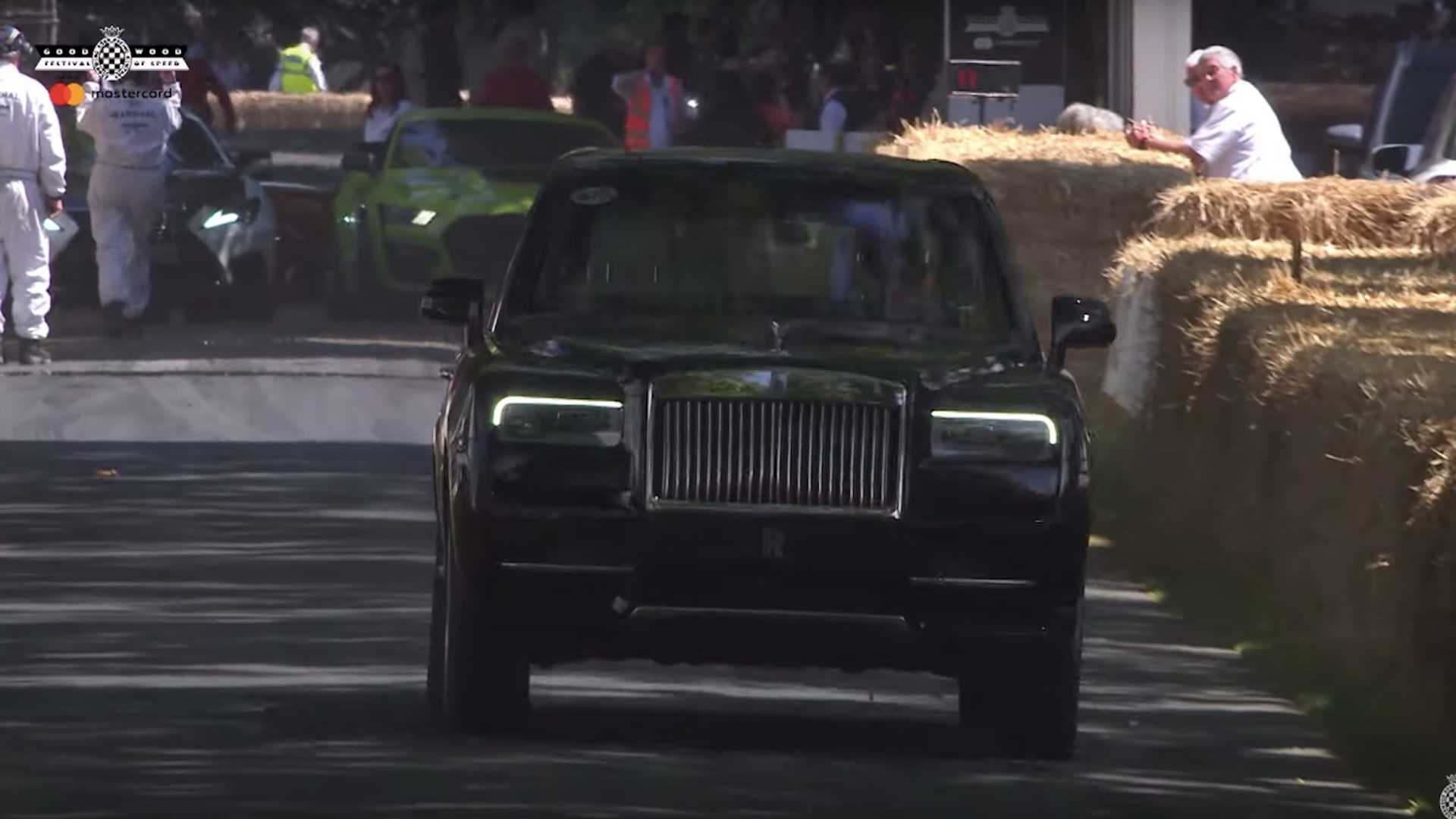 Rolls-Royce Cullinan В 2019 Гудвуд