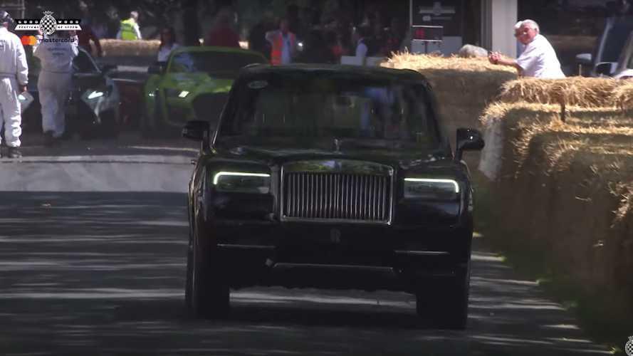 Rolls-Royce Cullinan at 2019 Goodwood