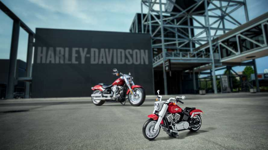 LEGO Rolls Out Super Cool Harley Fat Boy Creator Set