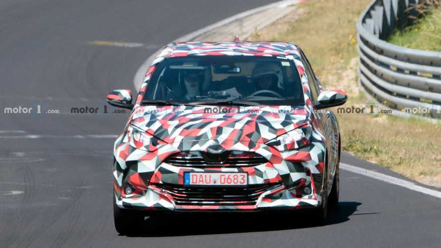 Next-Gen Toyota Yaris Sport spy photos