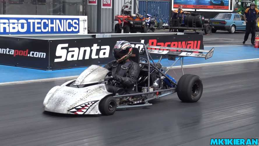 This UK go-kart is faster than a Dodge Demon
