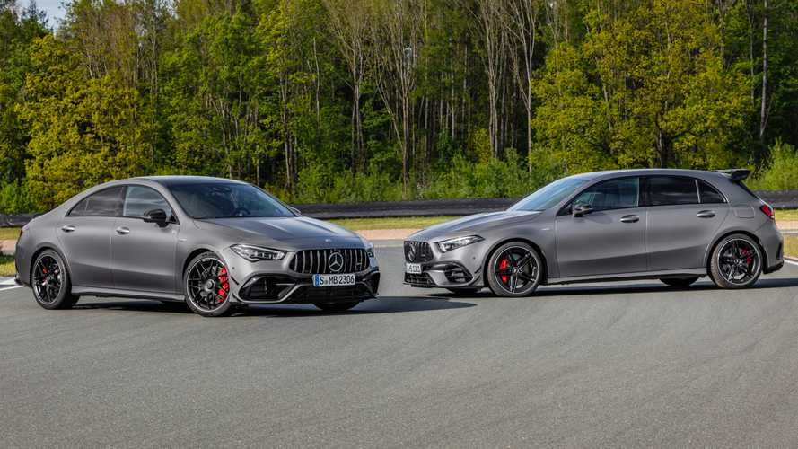 Mercedes-AMG A45 S, CLA 45 S hit the track in official videos