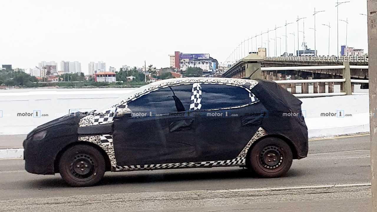 Flagra novo Hyundai HB20 2020