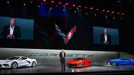 Chevrolet s global debut the 2020 mid engine corvette c8