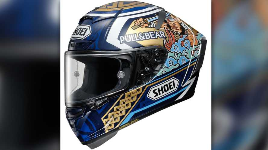 Shoei Unveils New Marc Marquez Motegi Helmet Livery
