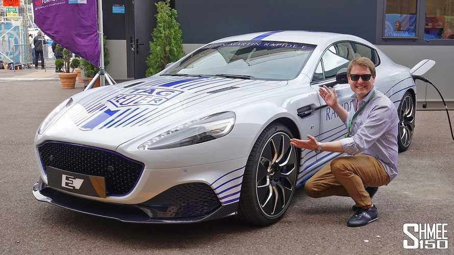 Aston Martin Rapide E stuns in Monaco video