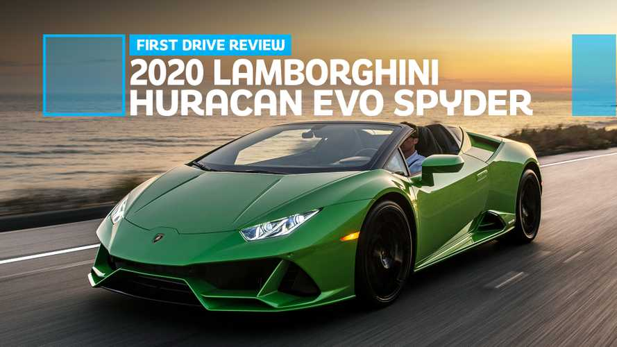 2020 Lamborghini Huracan Evo Spyder First Drive: Open-Air Theater